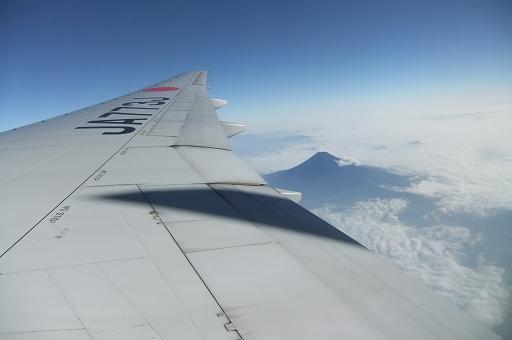 眼下の富士山