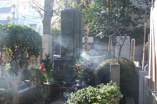大晦日の墓参