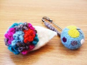 羊毛講習会作品