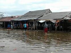 banjir_rob_utara_aconkインドネシア
