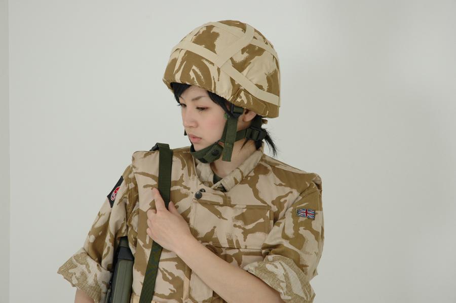 英軍コスプレ写真