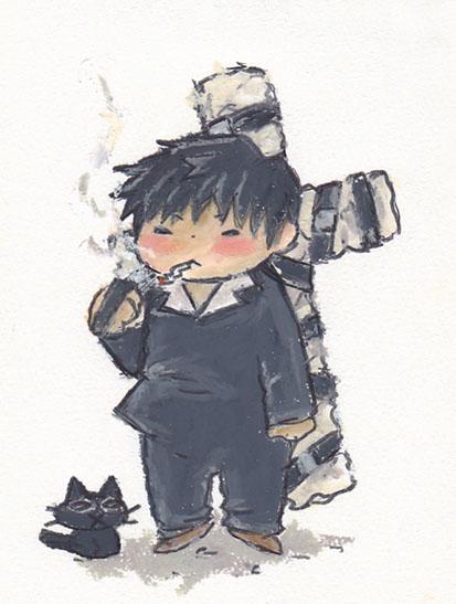 ニコ兄と黒猫様