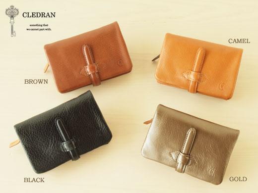 CLEDRANの二つ折り財布