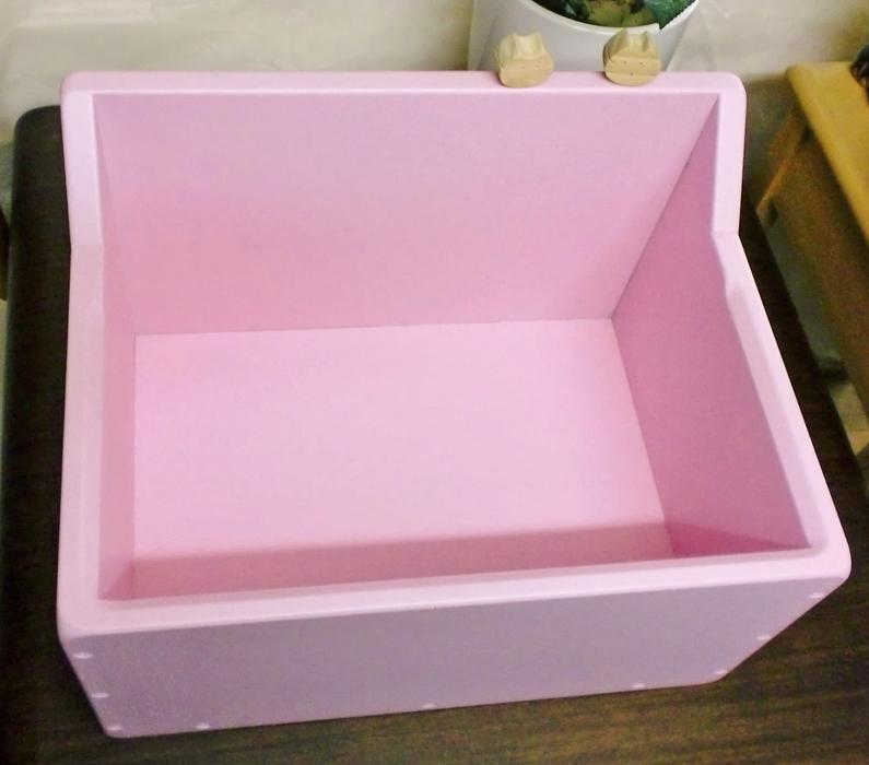 猫の巣箱 ピンク