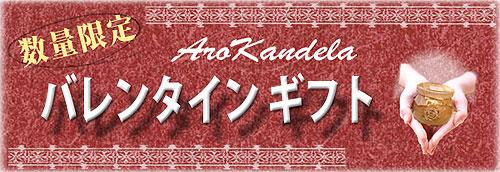 バレンタインギフト アロカンデーラアロマキャンドル