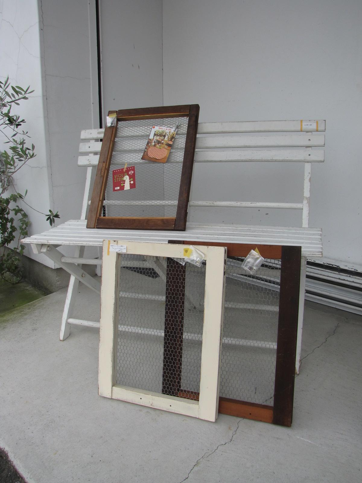 Recca リメイク雑貨 古木 廃材 ディスプレイフレーム