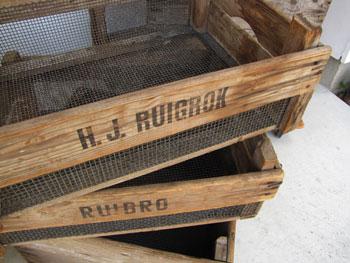 ブロカント 古材 BOX 木箱 プランター コ・リスタイル