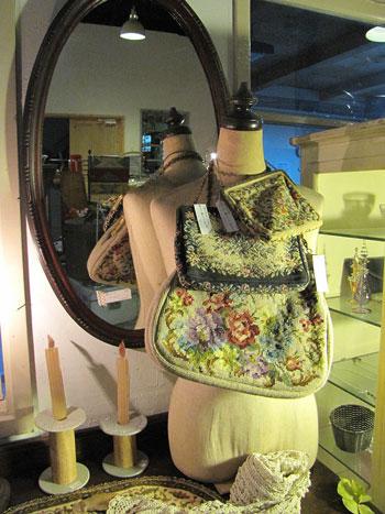 アンティーク ゴブラン織りバッグ パーティーバッグ ファッション 雑貨
