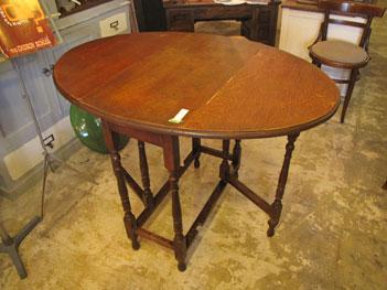 〈英国アンティーク〉 バタフライ ゲートレッグ テーブル