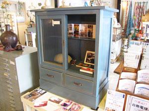 青空カラーの小家具入荷!