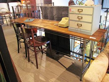 Re-design w200カウンターテーブル