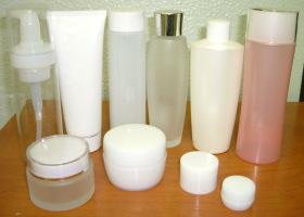 化粧品の容器見本