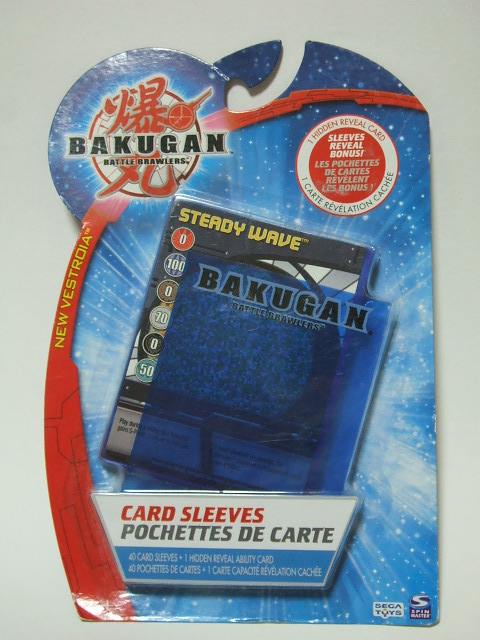 Bakugan Card Sleeves (3)