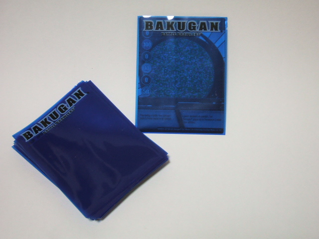 Bakugan Card Sleeves (5)