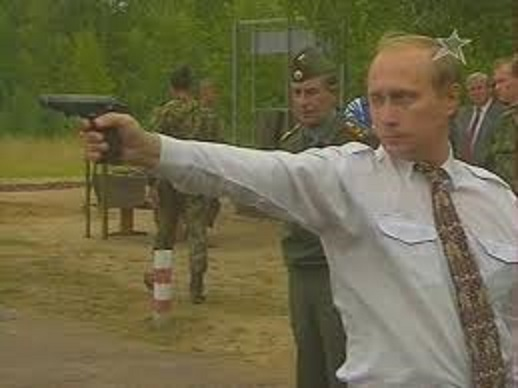 プーチン試し撃ち