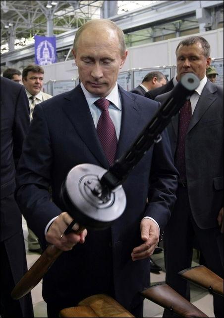 プーチン武器選び
