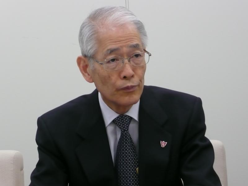 高祖敏明上智学院理事長20120302