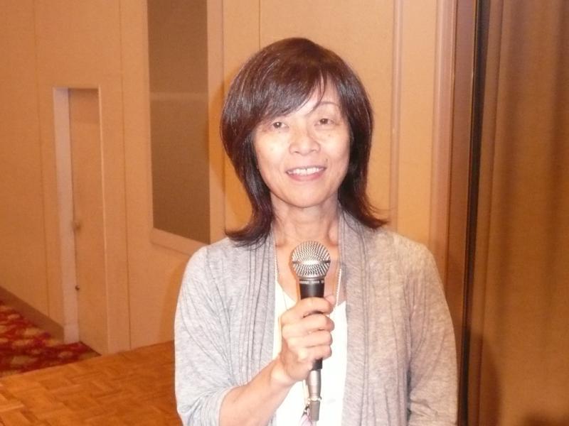 伊藤淑子さん2012年10月6日