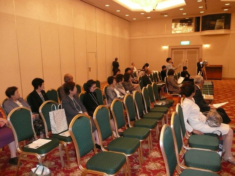 札幌女子ソフィア会講演会全景2012年10月6日