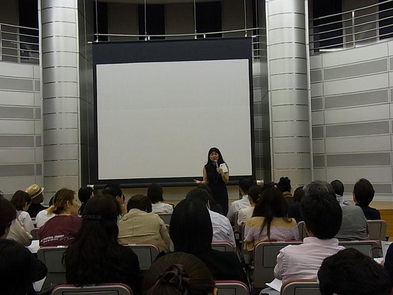 我謝さん上映会場20120920