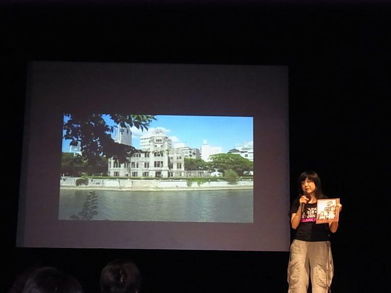 写真④ 広島訪問について語る原さんRIMG29850