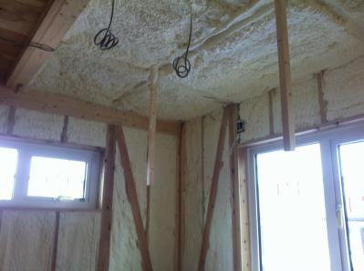 12714和室天井断熱