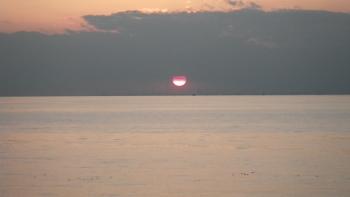 037夕日が綺麗で・・ズームアップ