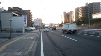 003千葉市内のR357は通勤で車たくさん