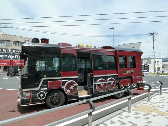 大子町観光SLバス