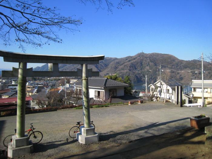 城山山麓 諏訪神社2