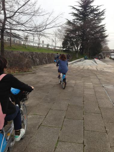 モニターツアー自転車