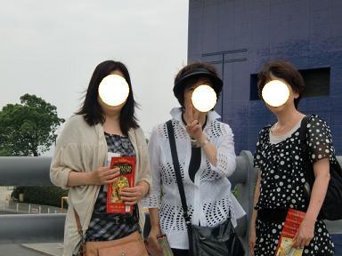 左から木苺さん、ポロママさん、Tさん