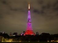 東京タワーピンクライトアップ