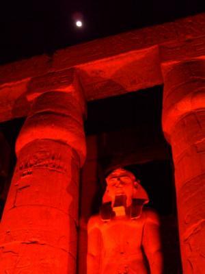 ライトアップ・ルクソール神殿