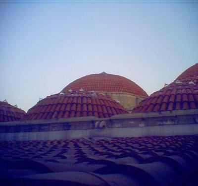 ハマムの丸屋根