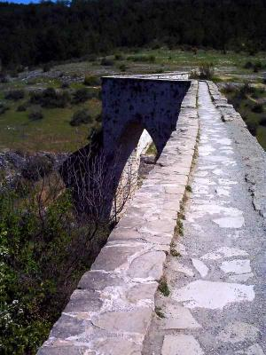 水道橋を歩く