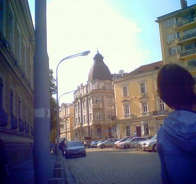 ソフィアの街角