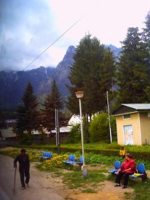 ルーマニアの田舎駅