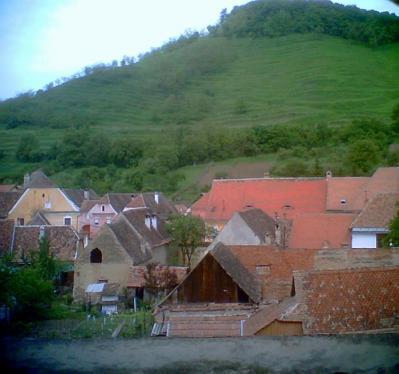 ルーマニアの町並み