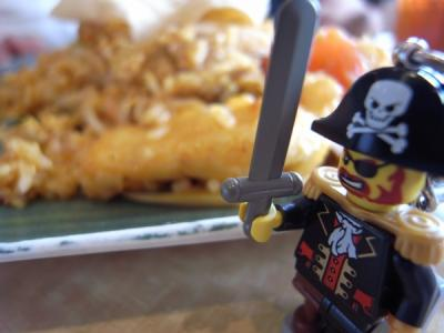 マレーシア料理に戦いを挑むキャプテン