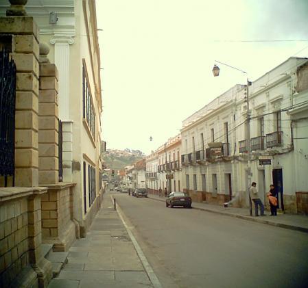 スクレの町