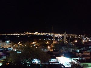 アカバ湾の夜景