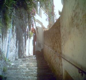 アマルフィ 階段