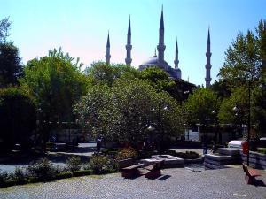 私の見たブルーモスク