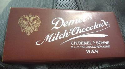 ウィーンのチョコ