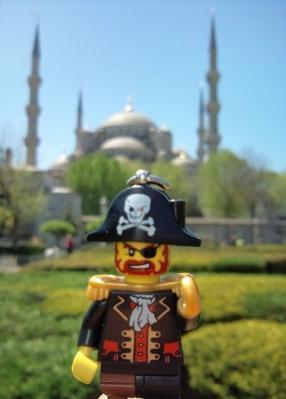 イスタンブールまで来たキャプテン