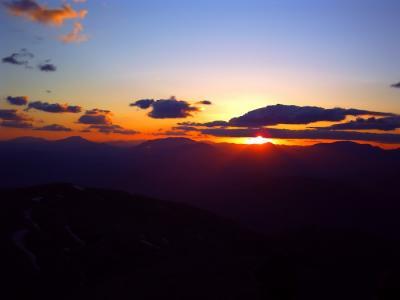 ネムルートの日没