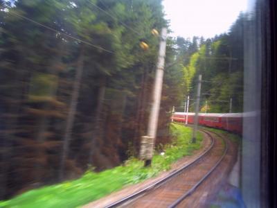 ルーマニアの列車