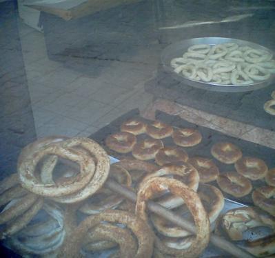 サフランボルのパン屋