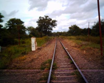 ビクトリアフォールズの線路